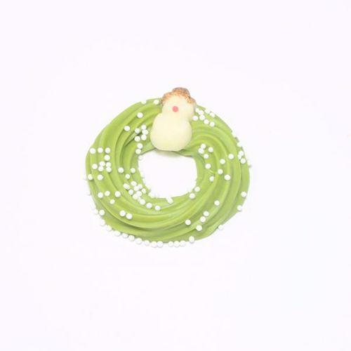 Afbeelding van Gladde kransjes groen