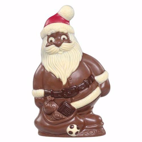 Afbeelding van Kerstman met speelgoed groot
