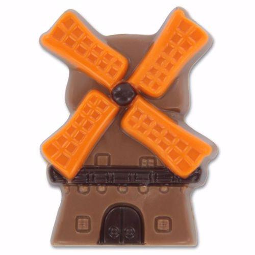 Afbeelding van Molentje met oranje wieken