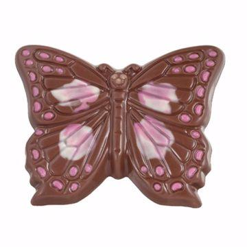 Afbeeldingen van Vlinder met roze accent