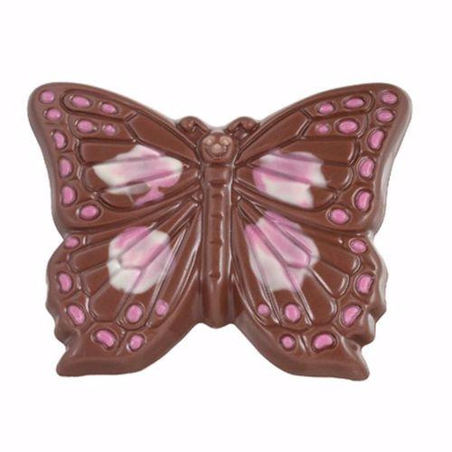 Afbeelding van Vlinder met roze accent