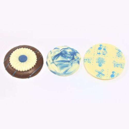 Afbeelding van Delfts blauw chocolaatjes