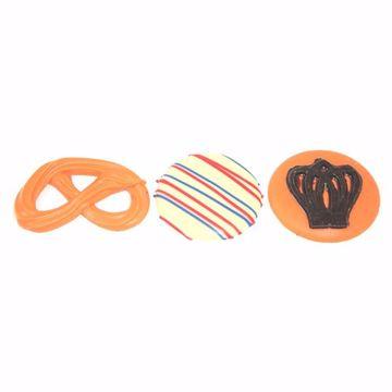 Afbeeldingen van Oranje chocolaatjes