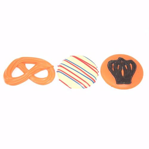 Afbeelding van Oranje chocolaatjes