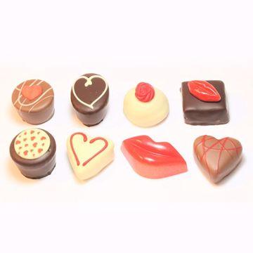 Afbeeldingen van Valentijn bonbons