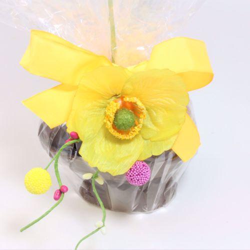 Afbeelding van Opgemaakt ei met bonbons 17 cm