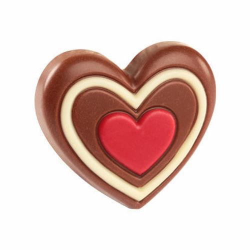 Afbeelding van Chocolade hartje